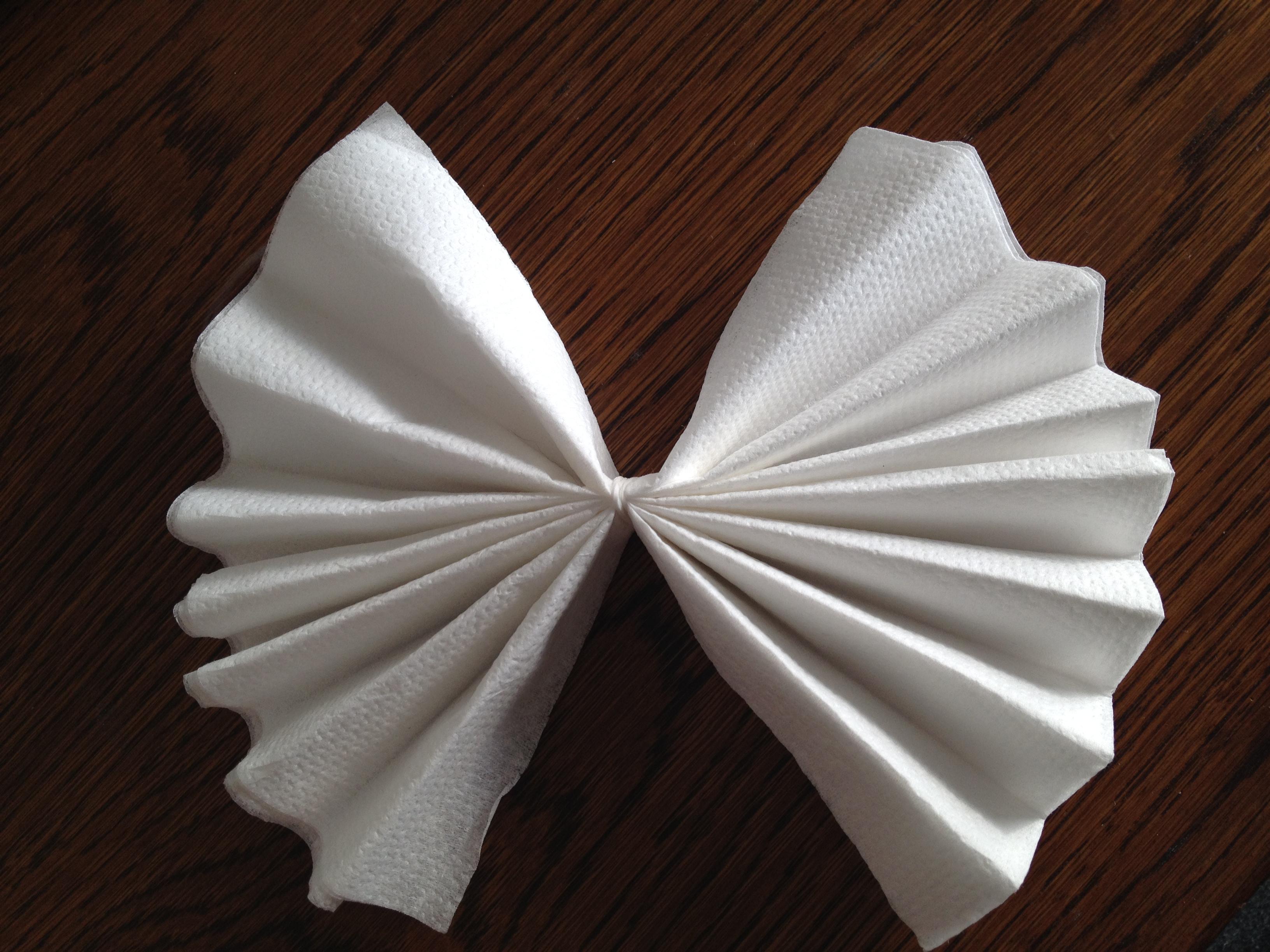 Verbazingwekkend DIY: bloemen van servetten - Maaike DM-59